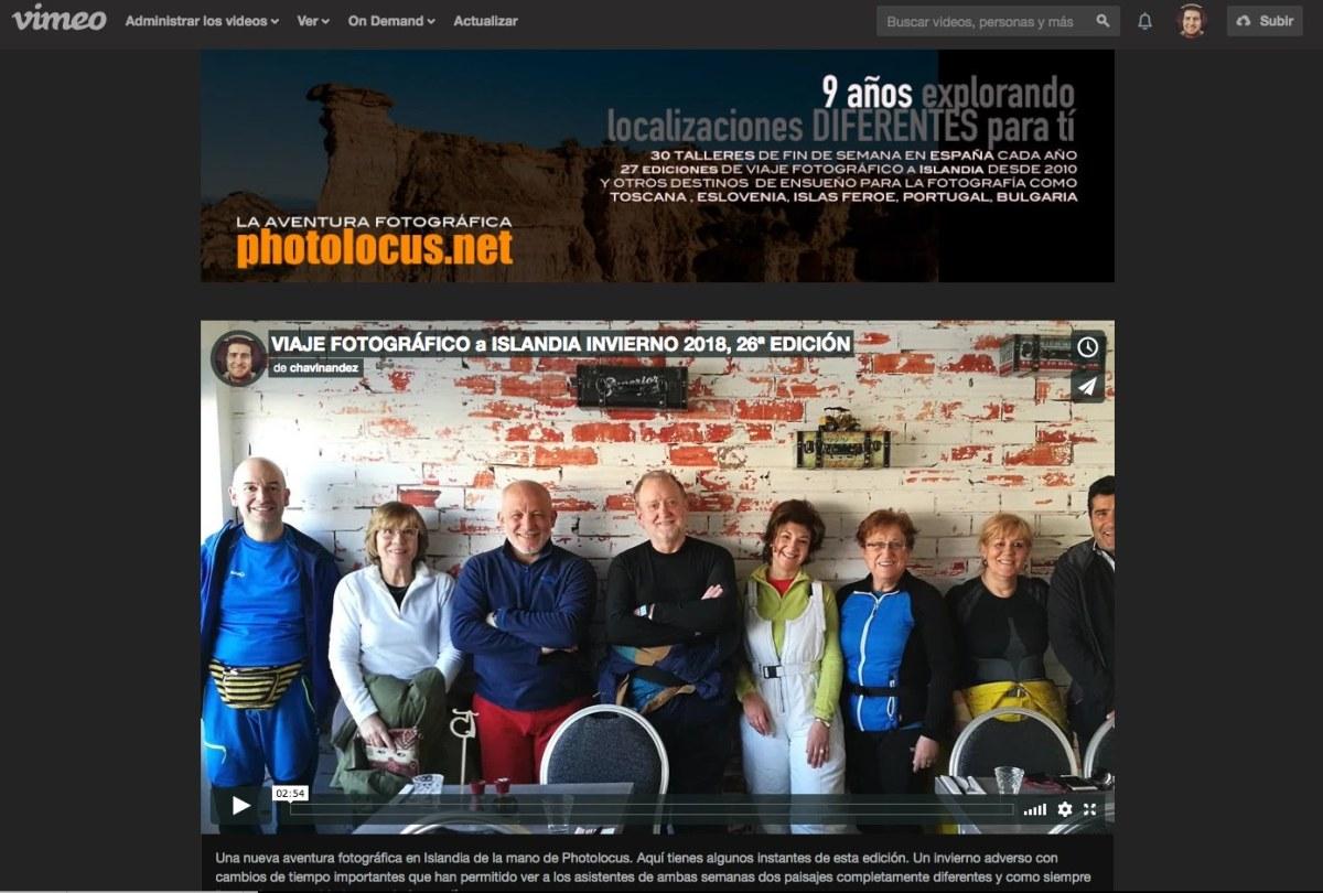 El Canal Photolocus TV una forma de seguir nuestra aventura fotográfica